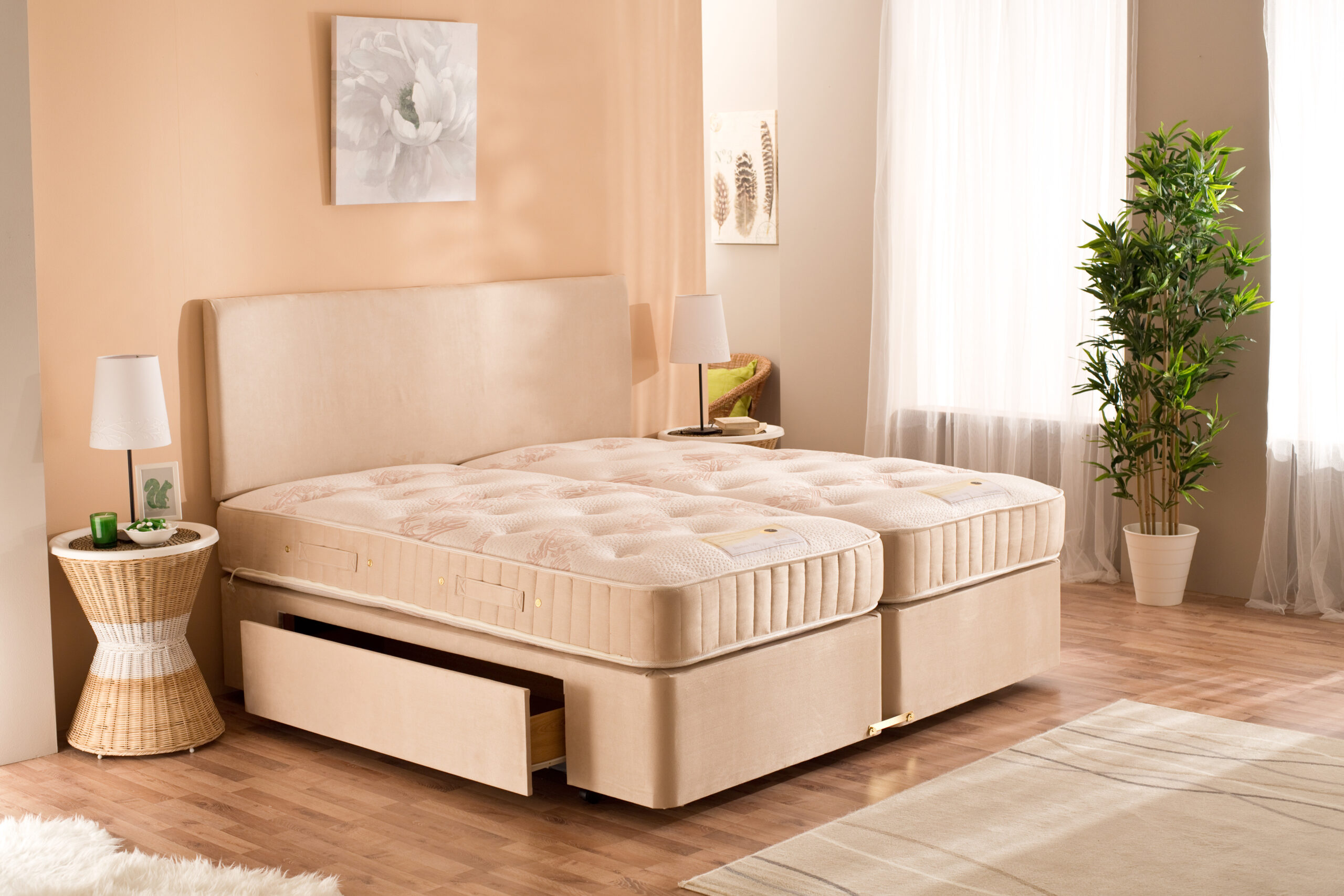 Bamboo bed by Moonraker
