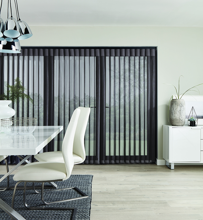 Allusion Horizon Pewter Sheer Rol-lite