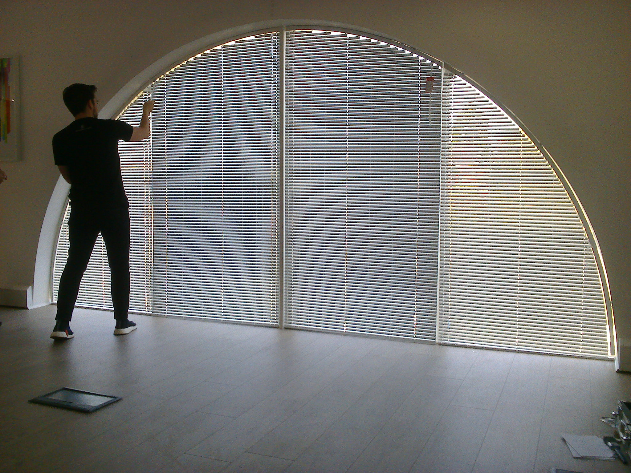 Nice semi circular blind shapers